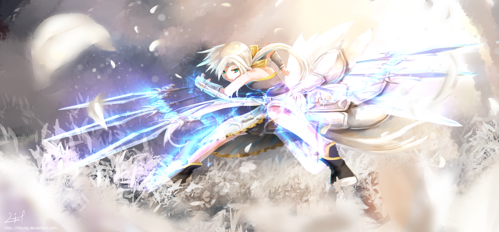 Perceval Noblisse Brave_frontier___untouchable_lily_by_litkung-d7rkk86