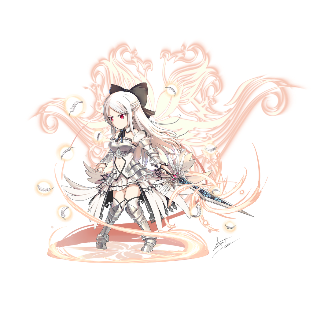 Brave Frontier Character Design Contest : Brave frontier sword princess alicia updated by