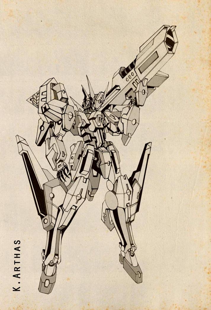 Gundam 00_SH04 by MrKingArthas