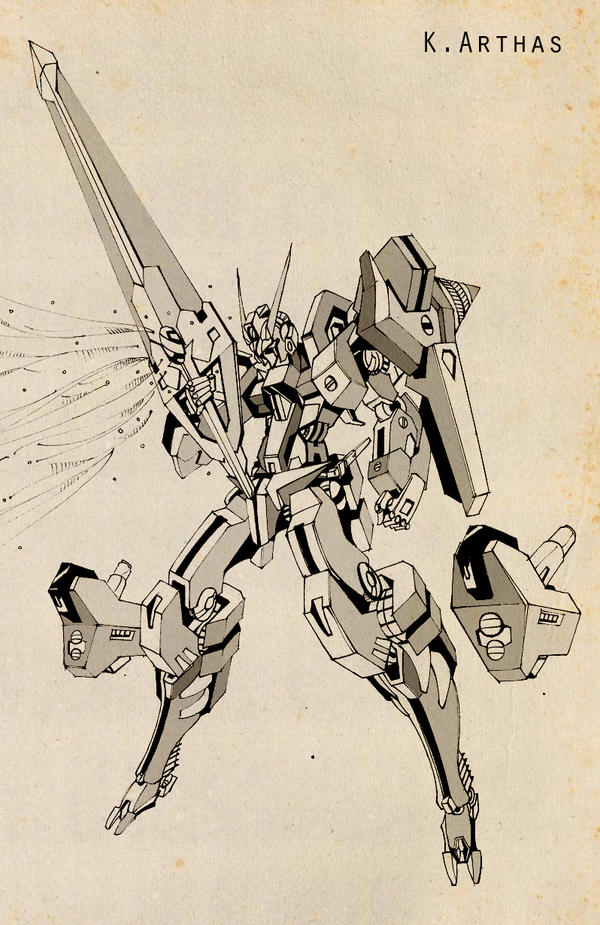 Gundam 00_SH05 by MrKingArthas