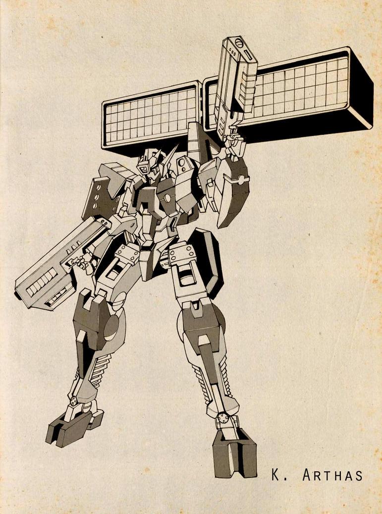 Gundam 00_ SH07 by MrKingArthas