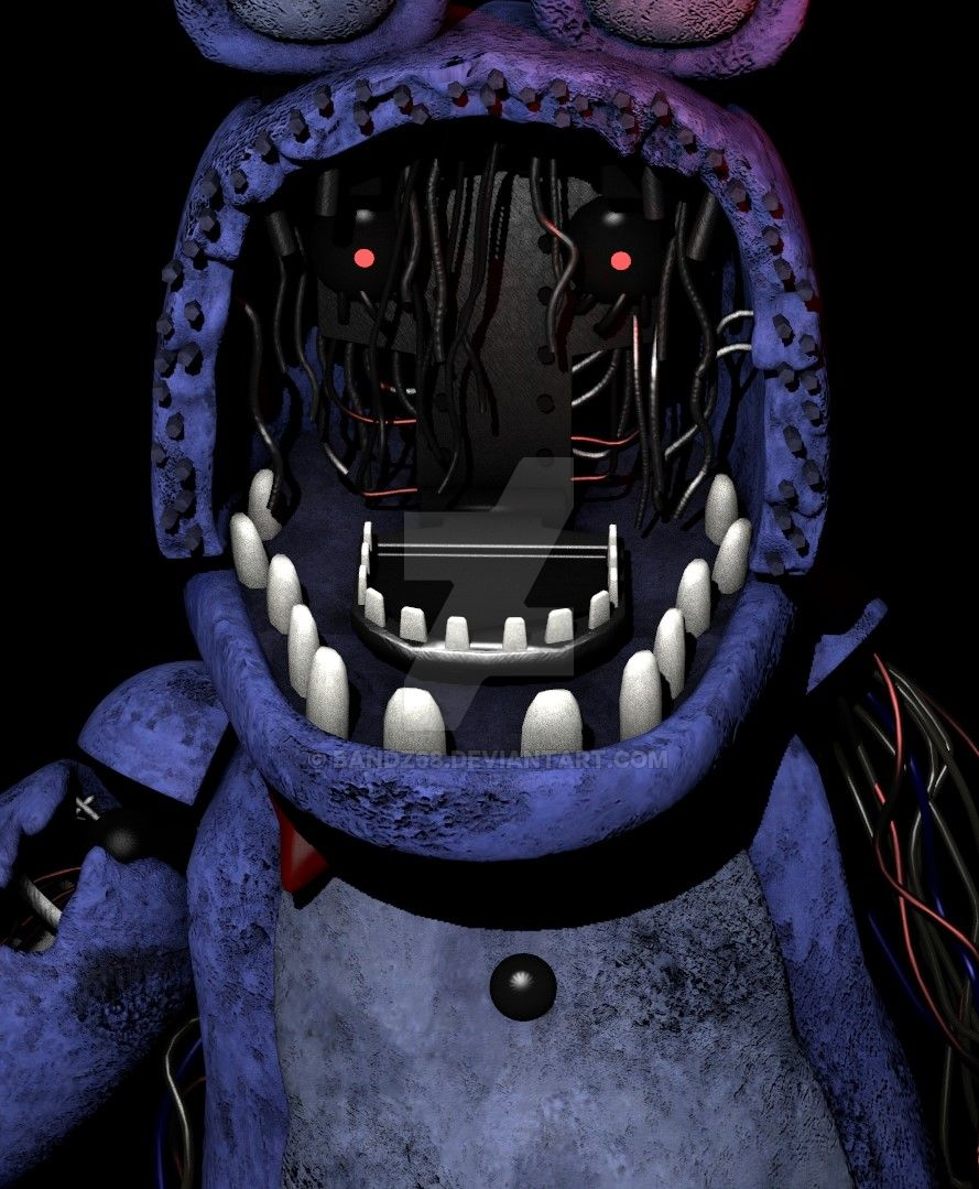 FNaF 2 Withered Bonnie Icon by Bandz68 on DeviantArt