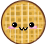 Free Waffle Icon by Edible-Rainbows
