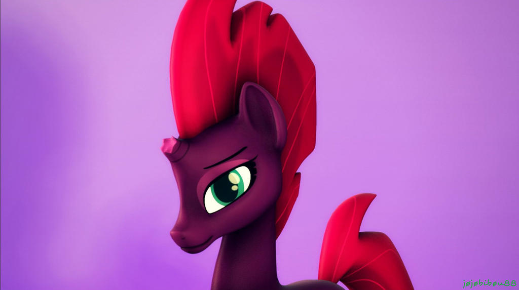 [SFM/MLPMovie/Wallpaper] Wallpaper Tempest Shadow by jojobibou