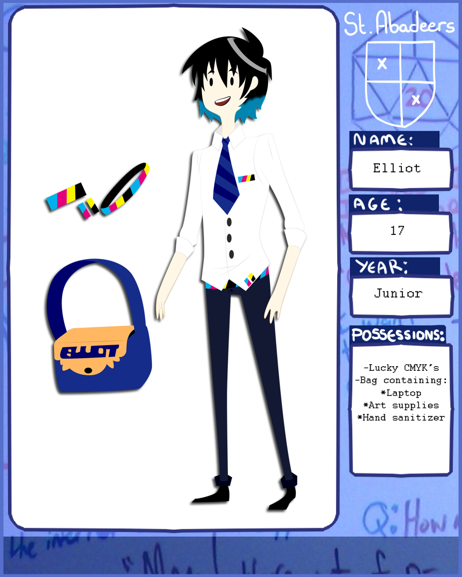 St. Abadeer's Application: Elliot by AskThePrinterPrince