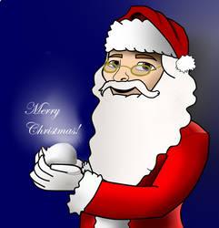 Santa Drawing // Merry Christmas by Mocallio2