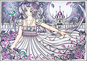 Princess Serenity - Moon Kingdom Castle by MyCandyGirl