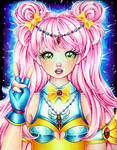 Aurora  Portrait - Semi Realistic Ver by MyCandyGirl