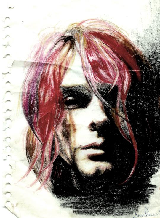Kurt Cobain by onlyifigiveashit