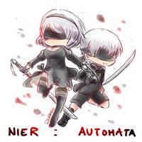 Nier:Automata - 2B + 9S