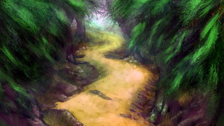 Brushes Experiment - Path by Daimera