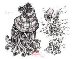 Stinky Squiddie by Daimera