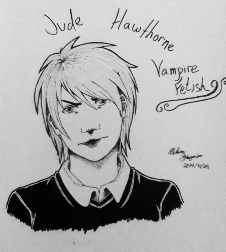 Jude - Vampire Fetish - Fan Art by DREAMSOFASINGER