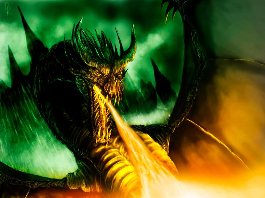 dragon lair by DiegoKlein