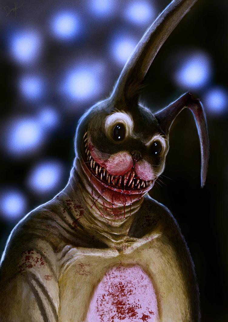 Creepy Easter Bunny by DiegoKlein