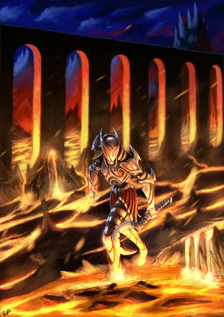 Hell Knight by DiegoKlein