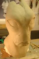 Mordin Solus Mask WIP by Danosuke