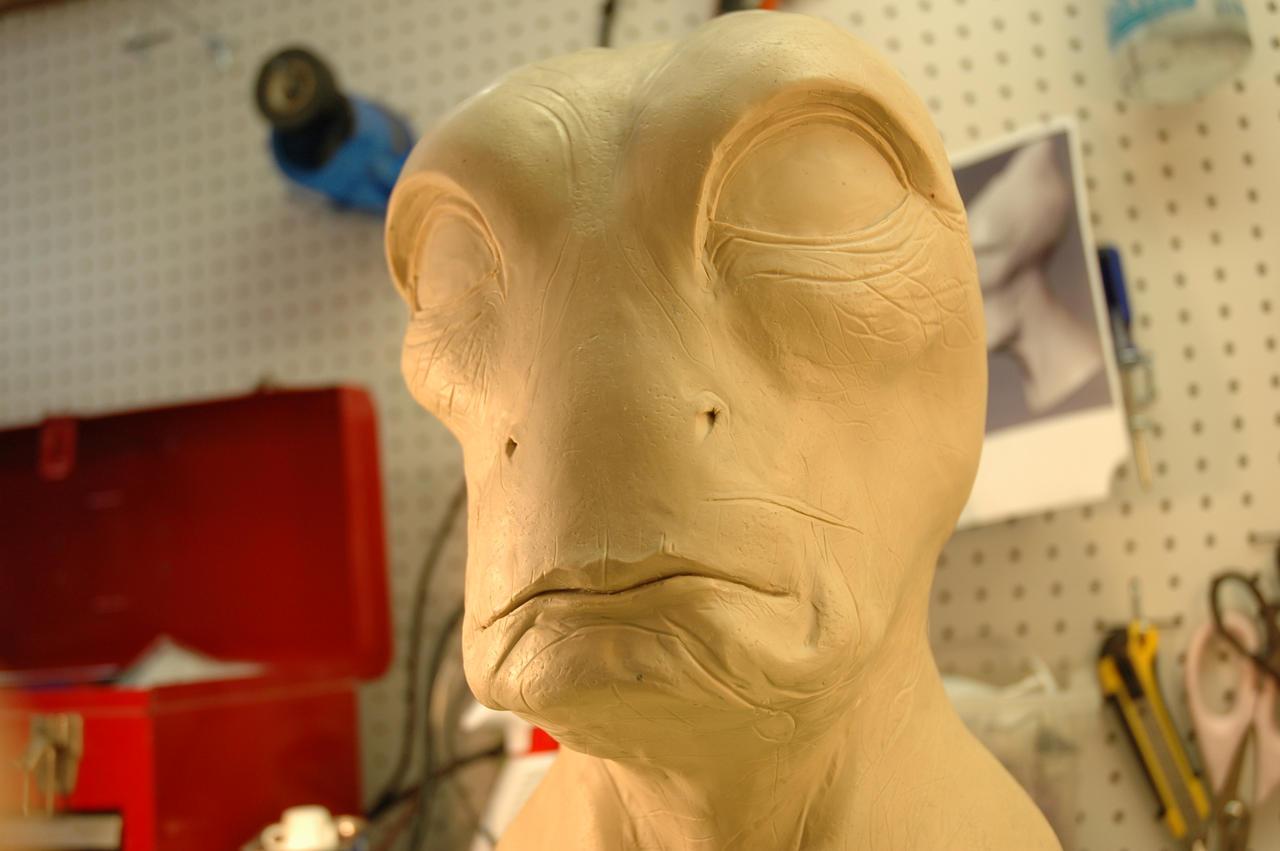 Mordin Solus Mask WIP 2 by Danosuke