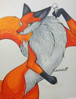 Vixen by LotusFoxfire