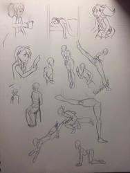 Draw Study3 by LotusFoxfire
