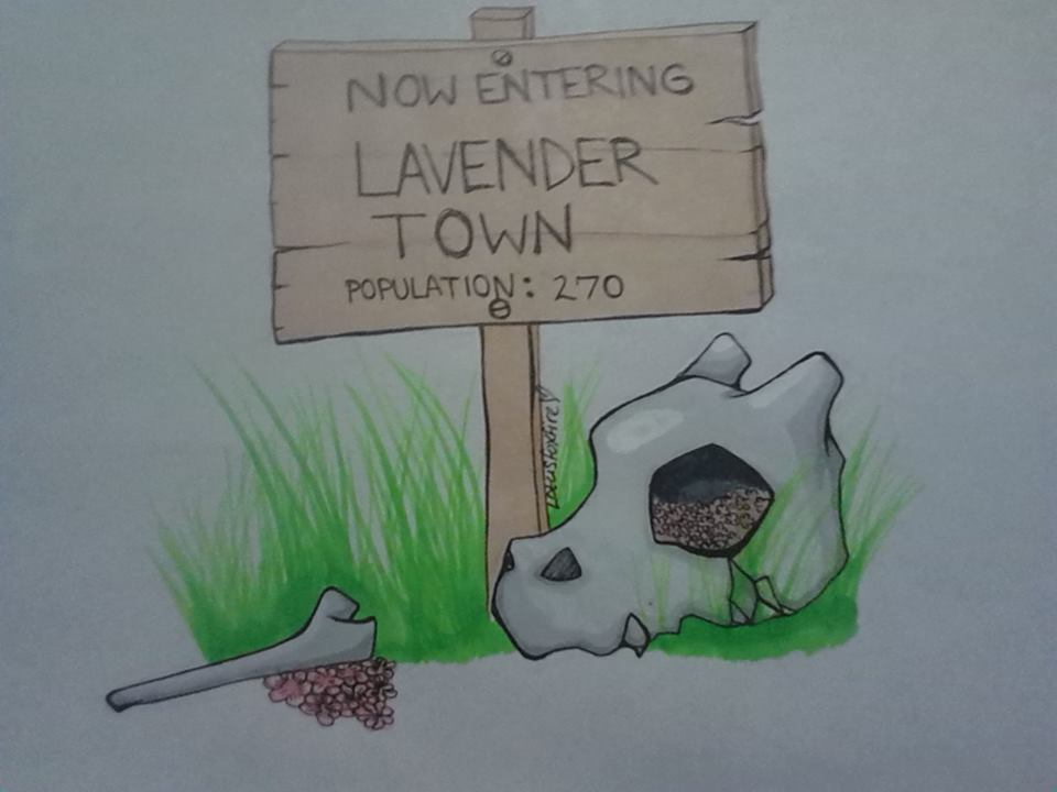 Lavender town tune by LotusFoxfire