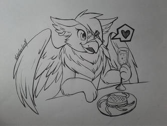 Eyrie (neopets) (OLD FROM LIKE 4 MONTHS AGO SORRY) by LotusFoxfire
