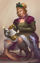 Lady Sybil by NestDaria