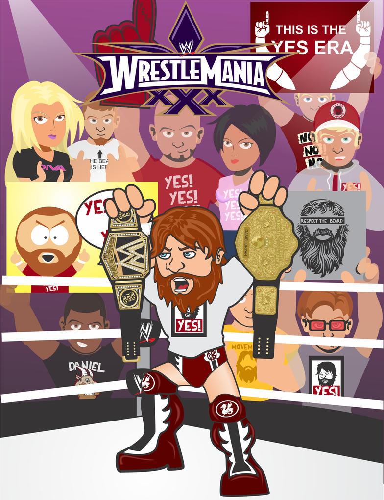 Daniel Bryan Wrestlemania 30 victory by vazquez-tellez on ...Daniel Bryan Wrestlemania 30 Wallpaper
