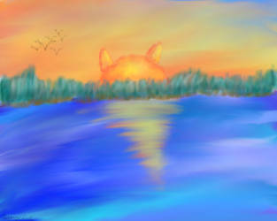 Suncat by Phoenixheart007
