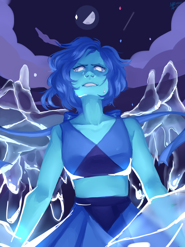 SPEEDPAINT I don't really care much for Lapis because her character development is very lackluster but she is 100% fun to draw! -- Instagram: @Cryptidbuzz Tumblr: Cryptidize -- Program used: Paint ...