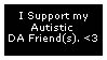 Autistic DA Friend Stamp by GaneneTheDefendra