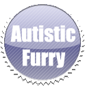 Autistic Furry Stamp by GaneneTheDefendra