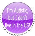 Autistic Foreigner Stamp by GaneneTheCindeleon