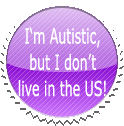 Autistic Foreigner Stamp by GaneneTheInkling