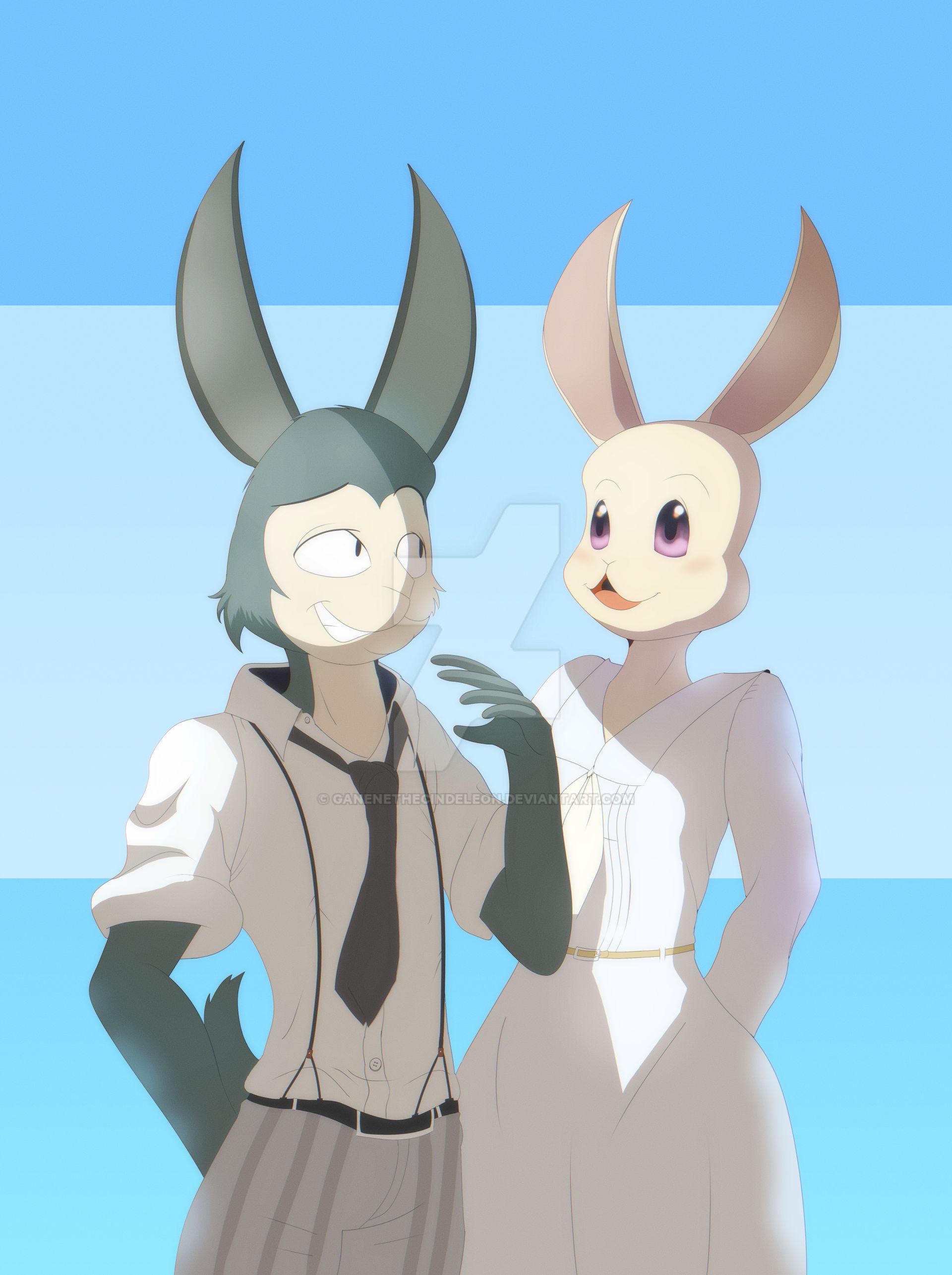 Bunny Legoshi And Haru