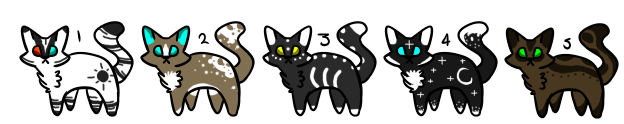 Cheap Cat Adopts [CLOSED] by Chroniux