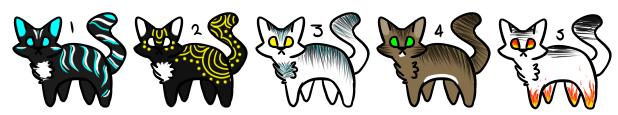 Cheap Cat Adopts [2/5 OPEN] by Chroniux