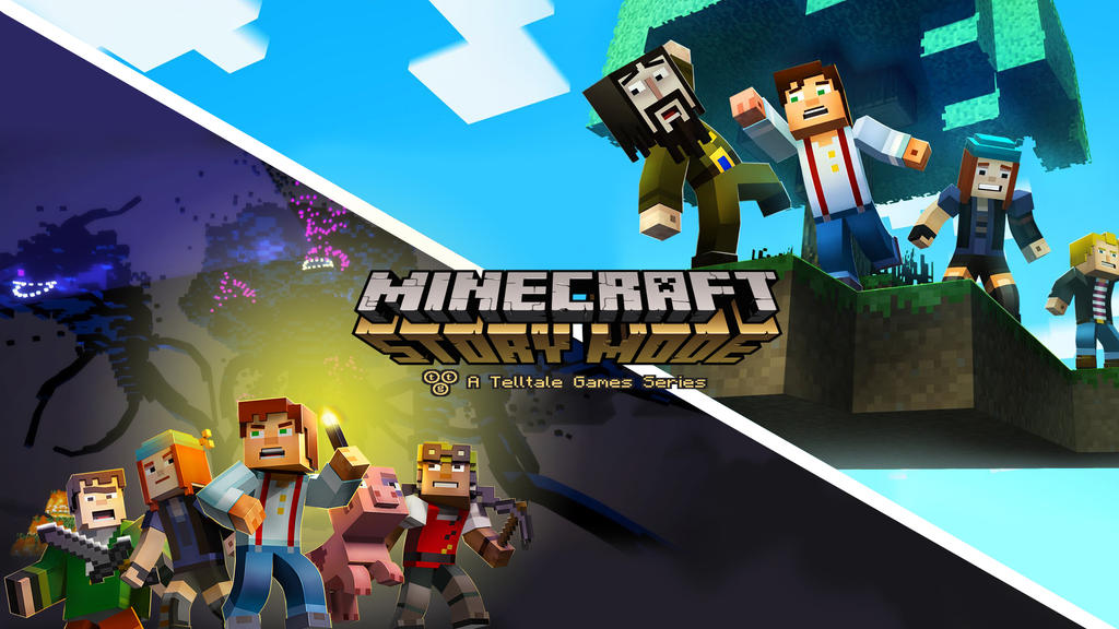 Minecraft story mode wallpaper by demoncloud on deviantart - Minecraft story mode wallpaper ...
