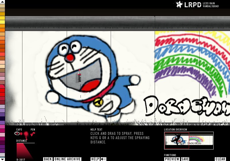 Graffiti Studio: Doraemon By LaLiLoLuLe On DeviantArt