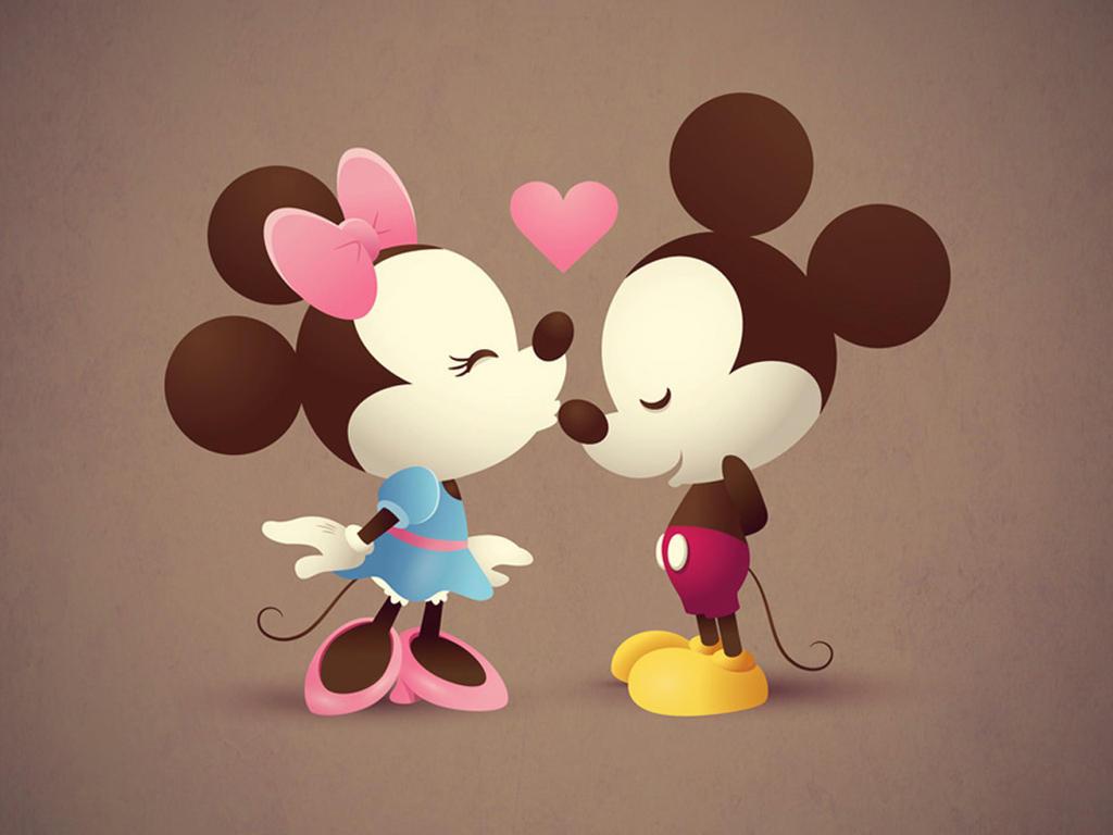 mickey and miney