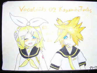 Kagamine Rin and Ren