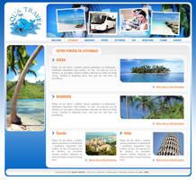 AquaTravel web site by djnick2k