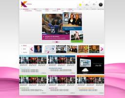 National TV web site by djnick2k