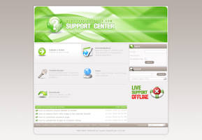 SupportCenter-green by djnick2k