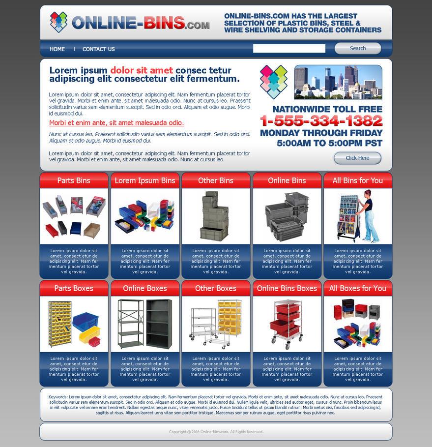online bins web shop design by djnick2k on deviantart. Black Bedroom Furniture Sets. Home Design Ideas
