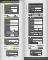 Web Forms V3.0 layered PSD by djnick2k