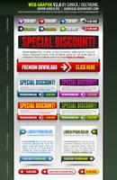 Web Graphics 2 layered PSD by djnick2k