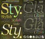 ASL PSD Text Effect Styles