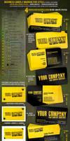 BusinessCards-radioactive .PSD by djnick2k