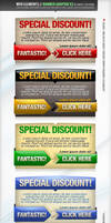 Web Elements - Banners PSD